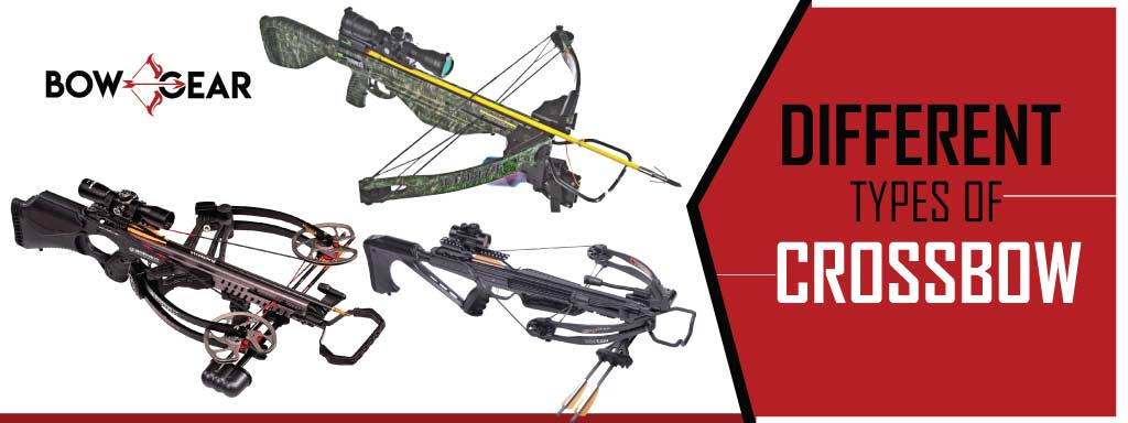 Different types of crossbow