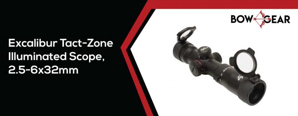 Excalibur-Tact-Zone-Illuminated-Scope,-2.5-6x32mm