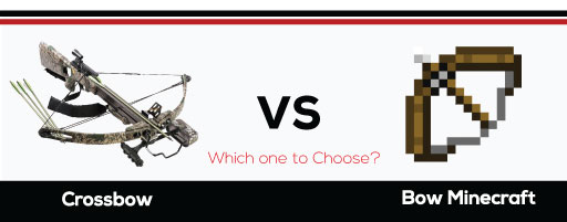crossbow vs bow minecraft-Which-one-to-Choose