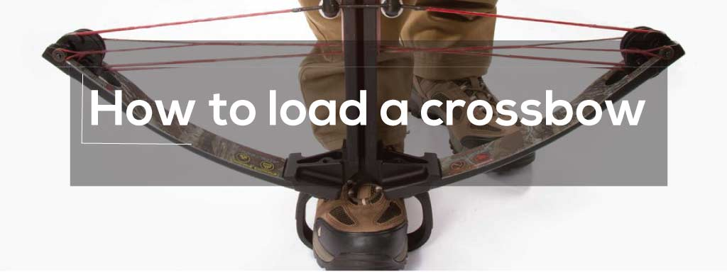 how to load a crossbow