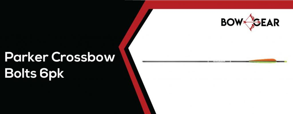 Parker Crossbow Bolts 6pk