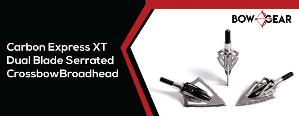 Carbon Express XT dual-blade Broadhead