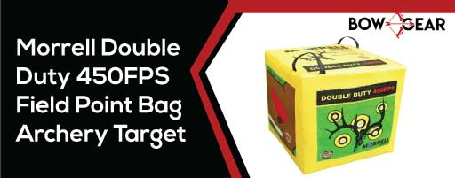 Morrell-Double-Duty-450FPS-Field-Point-Bag-Archery-Target