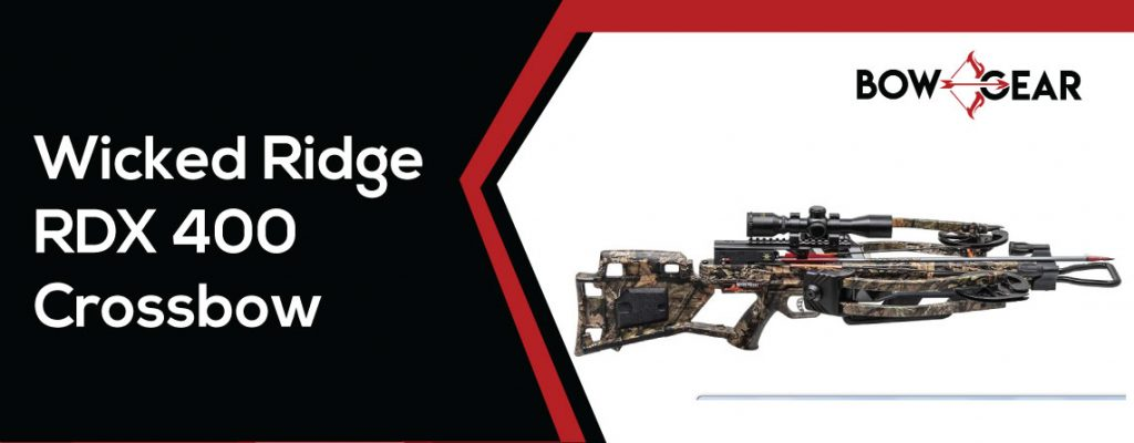 Wicked Ridge RDX-400 Crossbow-with-Multi Line Scope Package