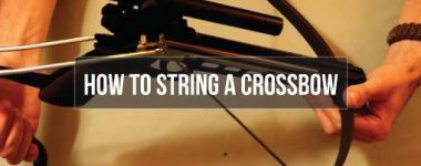 how to string a crossbow