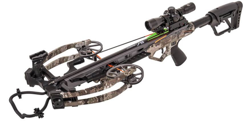 Bear X Constrictor Ready to Shoot Crossbow Package – Illuminated Scope,