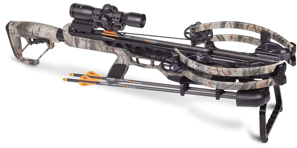 CenterPoint Archery CP400 Crossbow AXCV200TPK Powered By Helicoil Technology