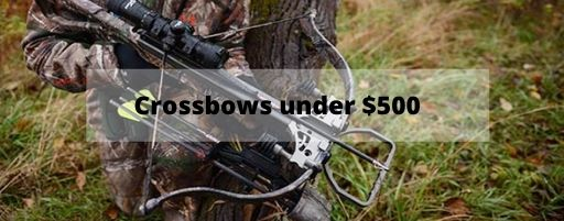 crossbows under 500